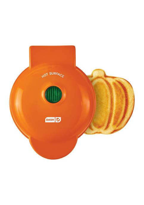 Dash™ Pumpkin Mini Waffle Maker