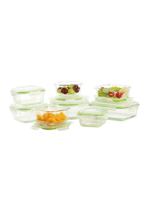Cooks Tools™ 16 Piece Glass with Snap Lid