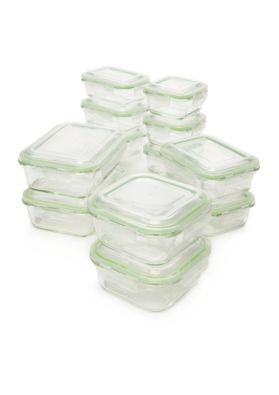 24-Piece Cooks Tools Glass Storage Set