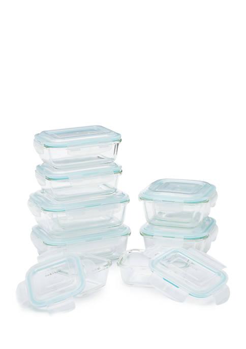 24-Piece Glass Storage Set
