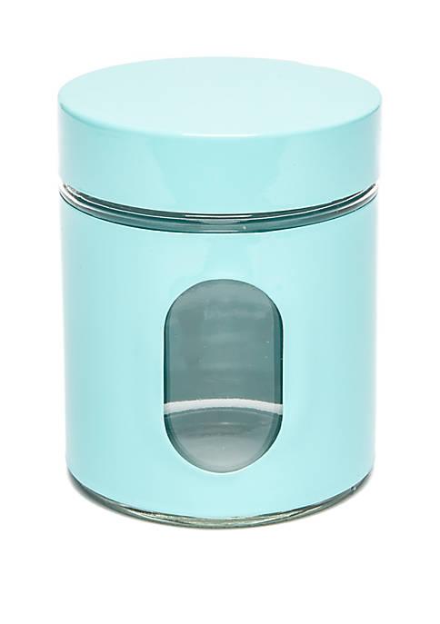 Small Aqua Cannister