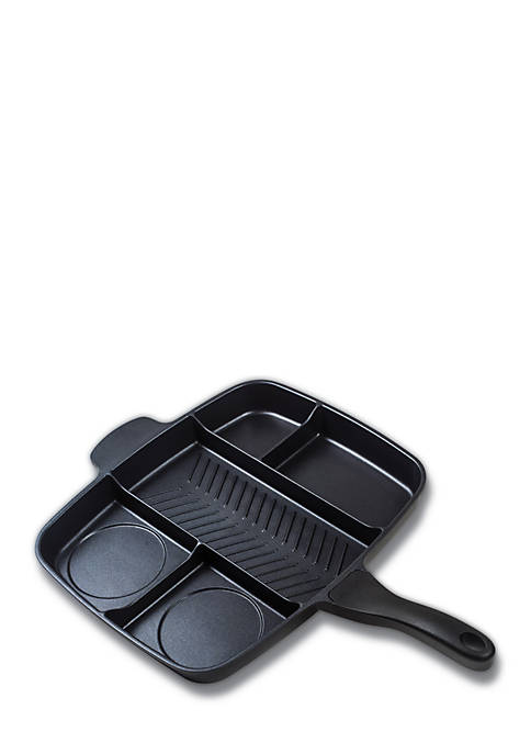 15-in. 5-Section Non-Stick Meal Skillet