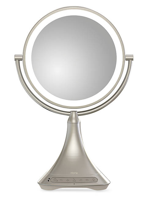 iHome 9-in. Double Sided Vanity Mirror with Bluetooth