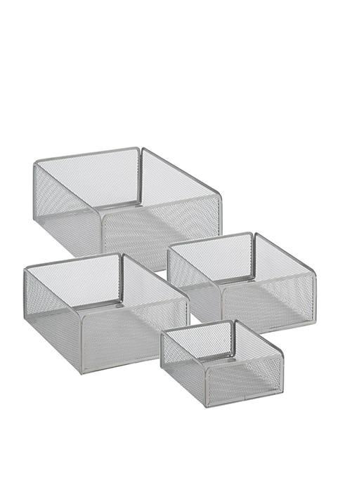 Honey-Can-Do eXcessory Basket 4-Piece Set