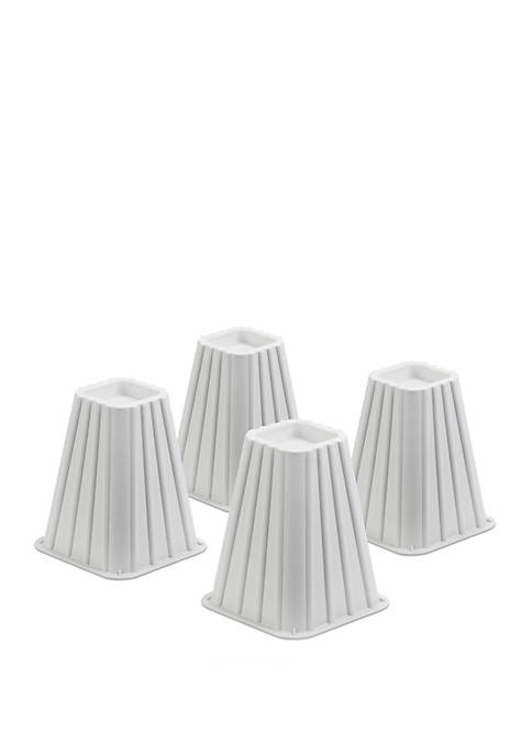 Honey-Can-Do Stackable Bed Risers-Set of 4
