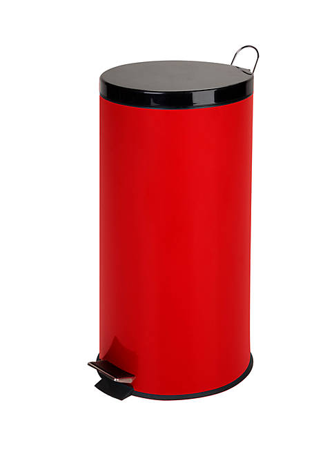 Honey-Can-Do 30-liter Metal Step Trash Can