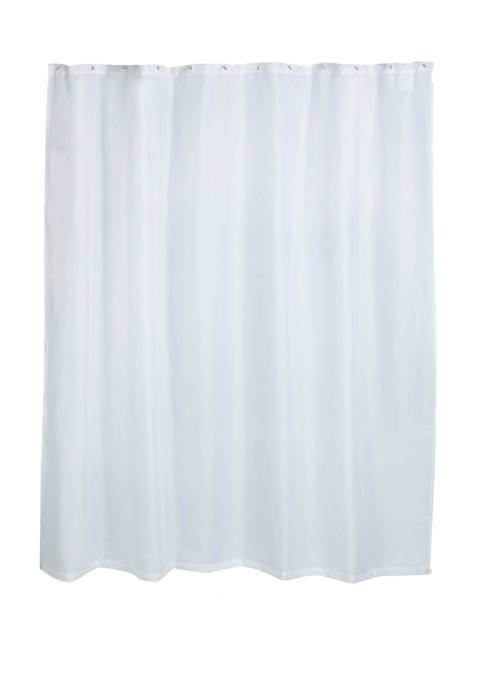 70 in x 72 in Fabric Curtain Liner