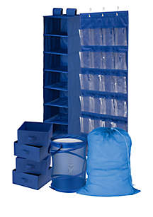 Honey-Can-Do 8-Piece Room and Laundry Organizer