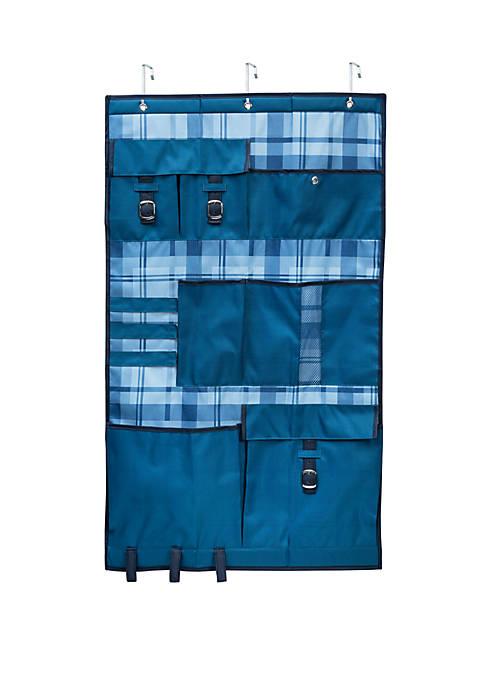 Over the door Pocket Organizer Blue