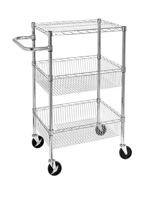 3 Shelf Storage Cart