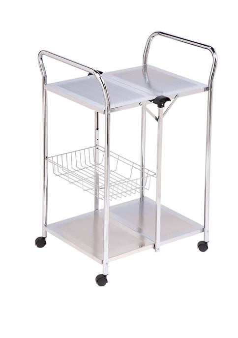 Honey-Can-Do Deluxe Foldable Push Cart