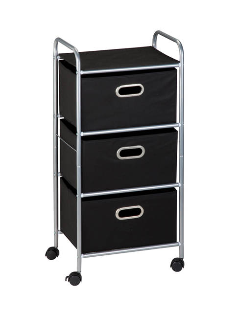 Honey-Can-Do 3 Drawer Rolling Cart