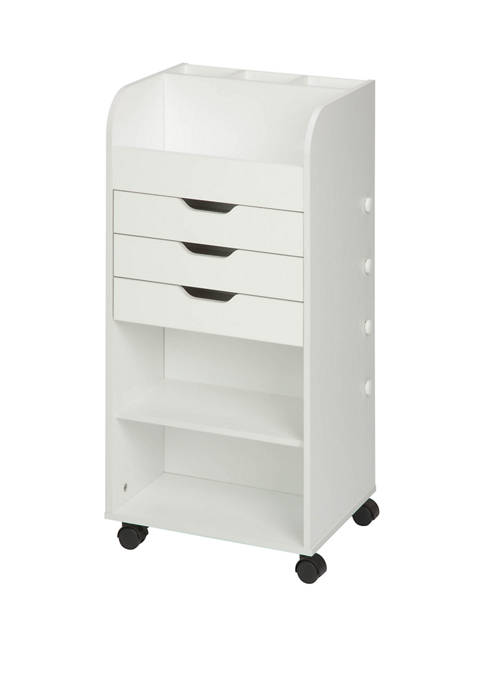 Honey-Can-Do Craft Storage With 3 Drawers