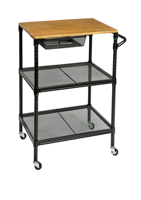 Honey-Can-Do 36 Inch Rolling Kitchen Cart