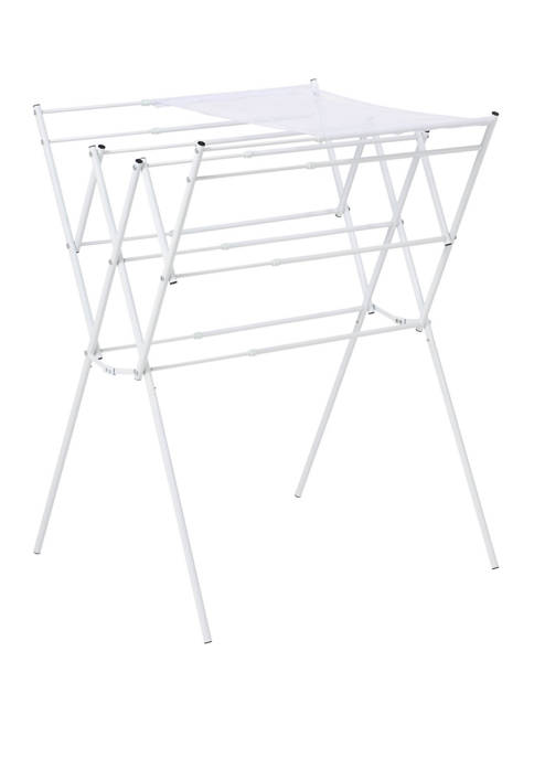 Honey-Can-Do Expandable Drying Rack With Mesh Shelf