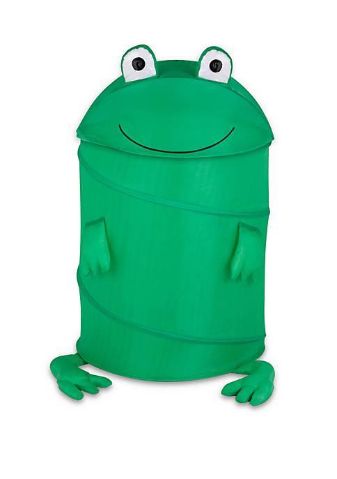 Honey-Can-Do Large Kids Pop-Up Hamper Frog