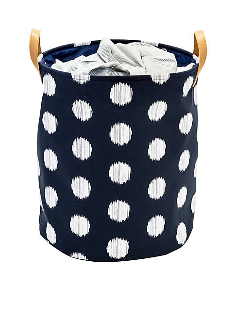 Honey-Can-Do Coastal Collection Decorative Portable Laundry Bin