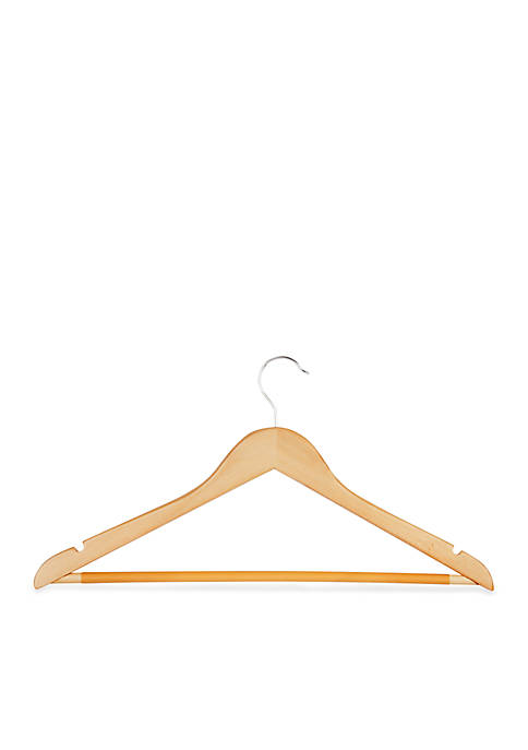 Honey-Can-Do 24-Pack Wood Hangers