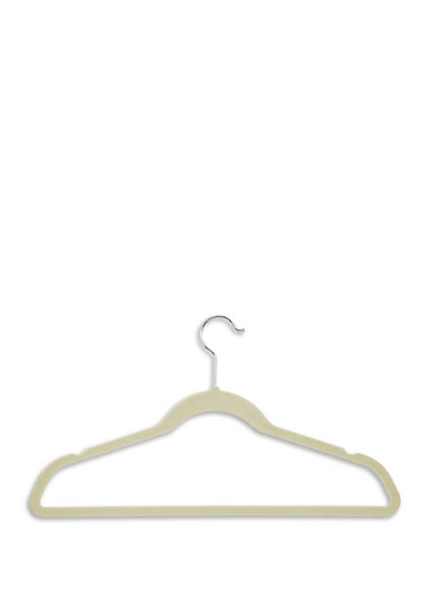 Honey-Can-Do Flocked Suit Hangers