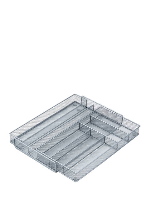 Honey-Can-Do Mesh Cutlery Tray Expandable