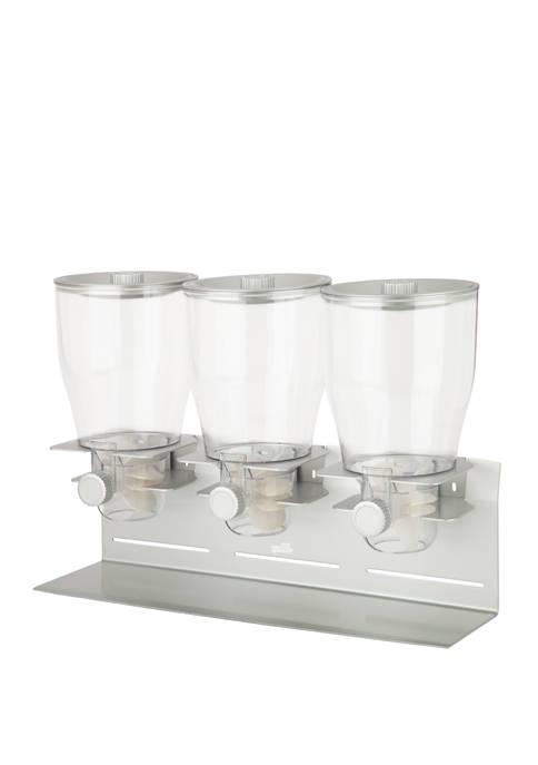 Honey-Can-Do Commercial Plus Triple Canister Dispenser
