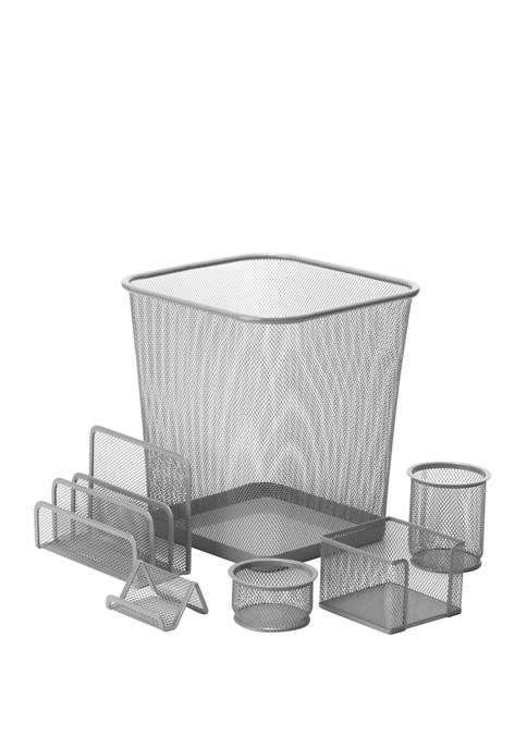 Honey-Can-Do Mesh Desk Set