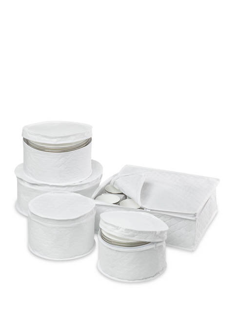 Honey-Can-Do Dinnerware Storage Set