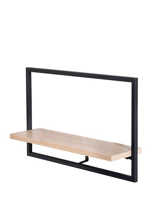 Honey-Can-Do Large Horizontal Floating Wall Shelf
