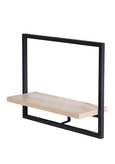 Horizontal Floating Wall Shelf