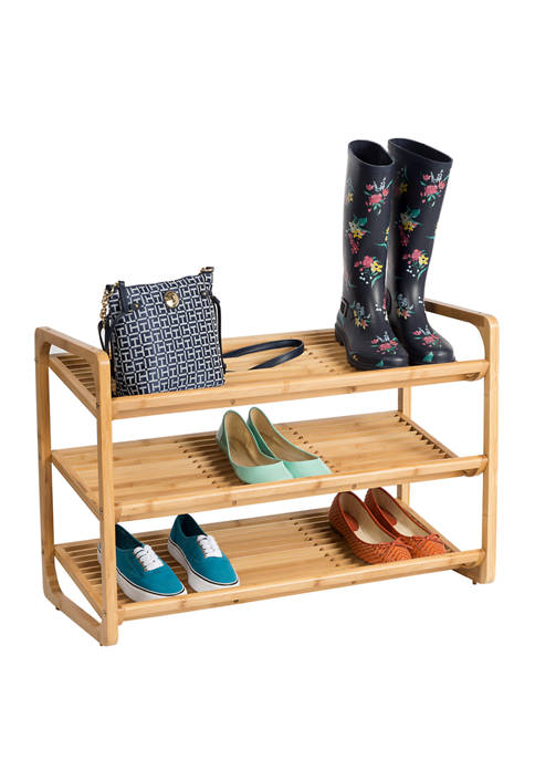 Honey-Can-Do Deluxe Shoe Rack