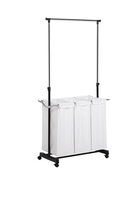 Honey-Can-Do Laundry Center with Adjustable Height