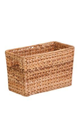 Honey-Can-Do Natural Magazine Basket