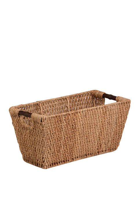 Seagrass Basket with Handles Large