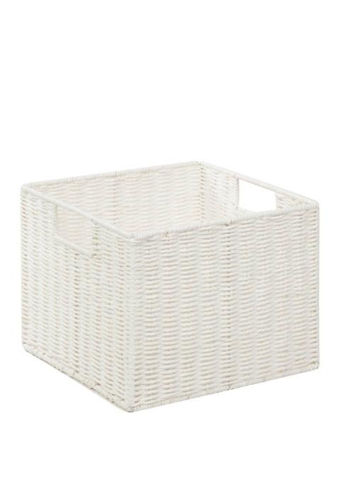 Parchment Cord Crate