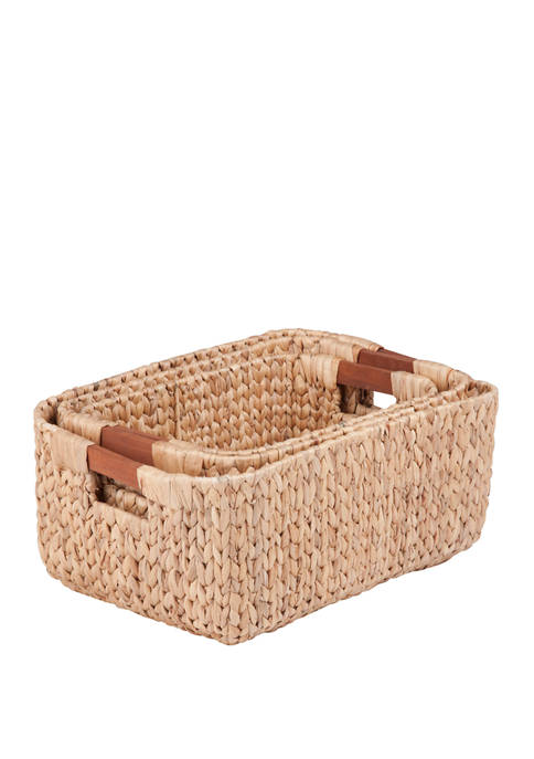 Square Natural Baskets
