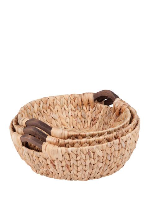 Round Natural Baskets