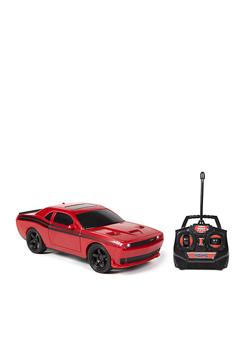 World Tech Toys Licensed Dodge Challenger RC Car