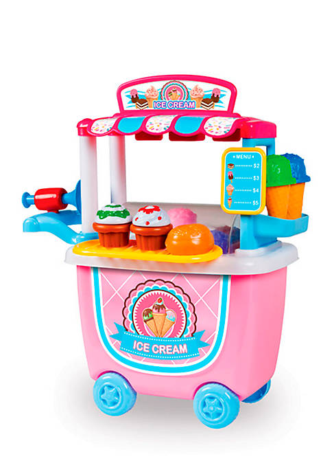 World Tech Toys 14-Piece Ice Cream Cart Playset