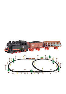 World Tech Toys King of the Rails 74-Piece Electric Train Set