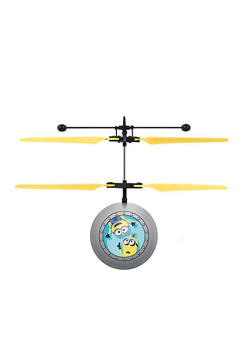 Universal Despicable Me Minions IR UFO Ball Helicopter