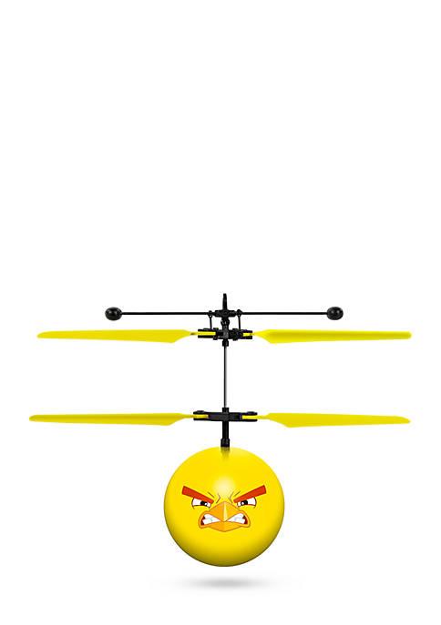 Rovio Angry Birds Movie Chuck IR UFO Ball Helicopter