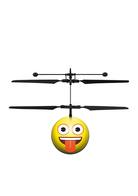 World Tech Toys Crazy Face Emoji IR UFO