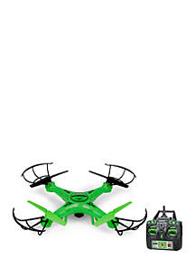 World Tech Toys Striker Glow-In-The-Dark 2.4GHz 4.5CH Camera RC Spy Drone