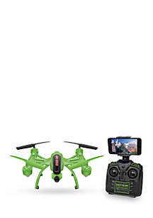World Tech Toys Mini Orion Glow in the Dark 2.4GHz 4.5CH Live Feed Camera RC Drone
