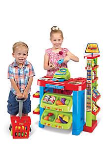 World Tech Toys Kid's Supermarket 47-Piece Playset