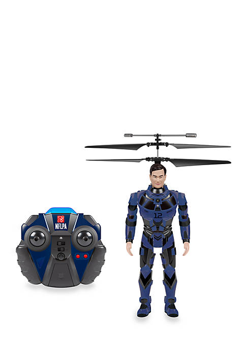 NFLPA Licensed Tom Brady BlitzBots 3.5CH IR RC Helicopter