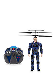 World Tech Toys NFLPA Licensed Tom Brady BlitzBots 3.5CH IR RC Helicopter