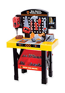 World Tech Toys Big Boy's Work Shop 54-pc. Tool Bench Set