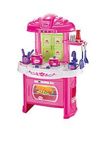 World Tech Toys Glamor Girlz My Kitchen 16-Piece Playset Light 'N' Sound