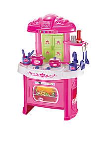 Glamor Girlz My Kitchen 16-Piece Playset Light 'N' Sound